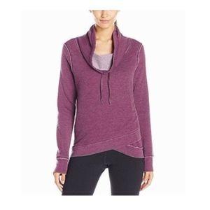 NWT Calvin Klein Cowl Neck Fleece Pullover Top